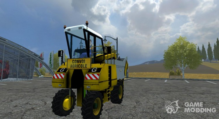 Gregoire G20 v 2.0 для Farming Simulator 2013