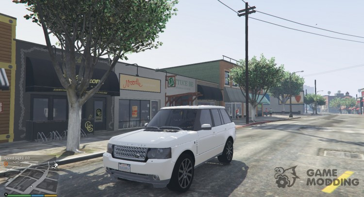 Range Rover Supercharged 2012 для GTA 5