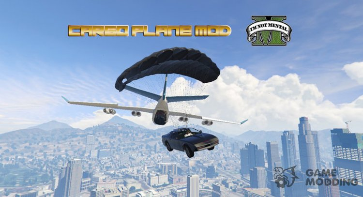 Cargo Plane Mod v1.3 for GTA 5