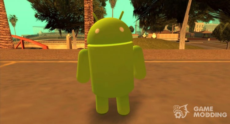 Android Robot for GTA San Andreas