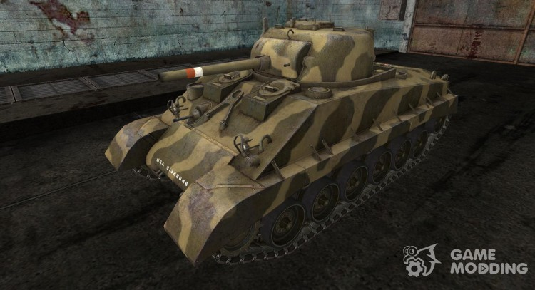 Skin for M4A2E4 for World Of Tanks