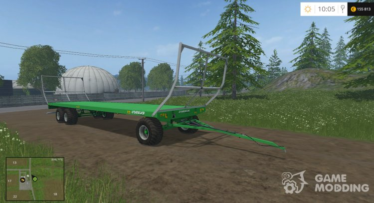 Joskin Wago Trailed 10m Autoloader v 1.0 for Farming Simulator 2015