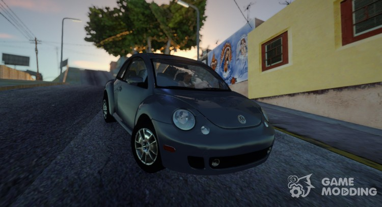 Volkswagen New Beetle 2004 Tunable for GTA San Andreas