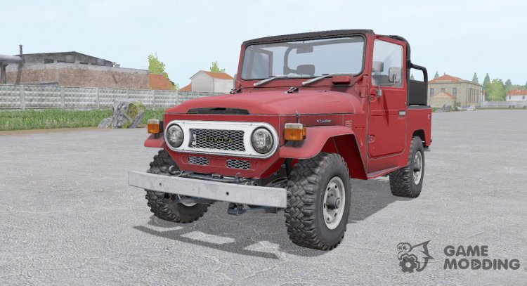 Toyota Land Cruiser 40 Canvas Top for Farming Simulator 2017