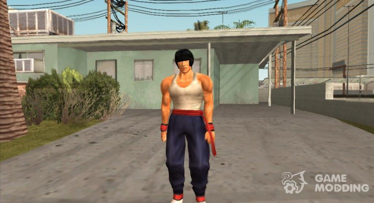 Law Tekken v2 for GTA San Andreas