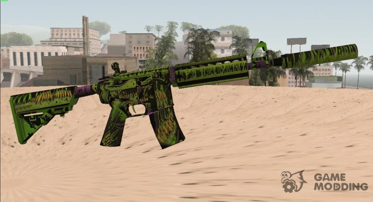 CSGO M4A4 Toxicator for GTA San Andreas