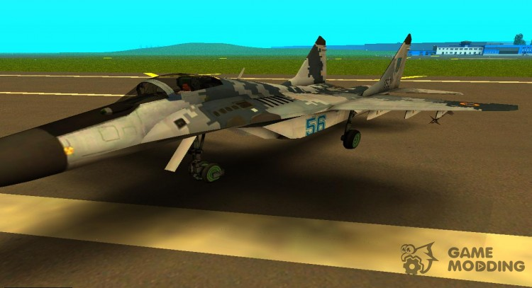 MIG-29 Ukrainian Falcon for GTA San Andreas