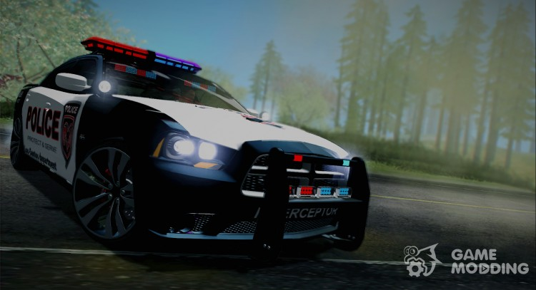2012 Dodge Charger SRT8 Police interceptor LSPD для GTA San Andreas