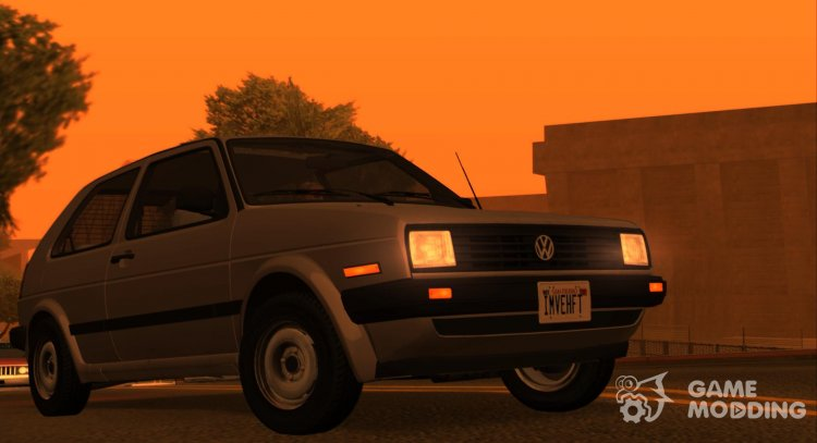 VW Golf Mk.2 (US-Spec) for GTA San Andreas