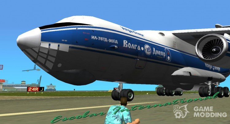 Il-76td-90vd to Volga-Dnepr Airlines for GTA Vice City