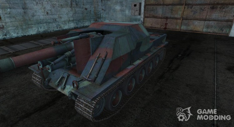 Skin for Lorraine 155 51 for World Of Tanks
