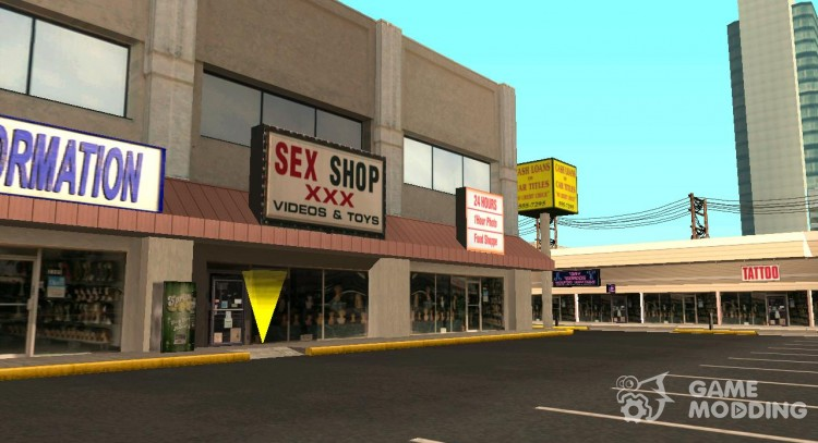 Sale dildos toys Sex Shop for GTA San Andreas