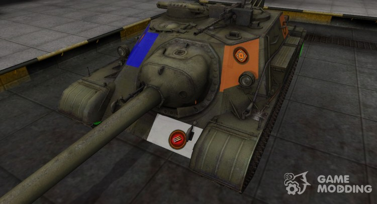 High-quality skin for Su-122-54 for World Of Tanks