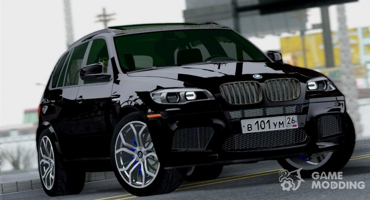 BMW X5M 2013 for GTA San Andreas