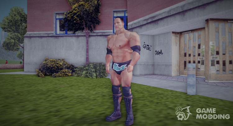 Dwayne The Rock Johnson for GTA 3