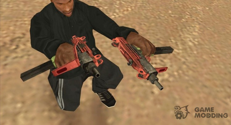 The Micro Uzi Grunge for GTA San Andreas