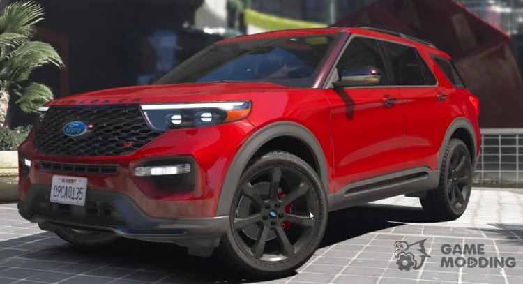 2020 Ford Explorer ST for GTA 5