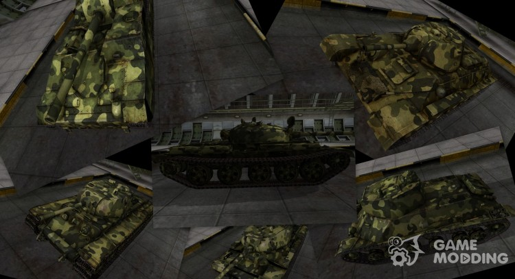 Camouflage for Soviet tanks for World Of Tanks