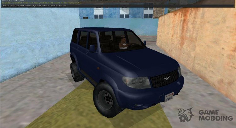 UAZ Patriot (LQ) SA-Style for GTA San Andreas