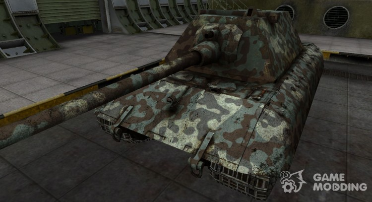 Mountain camouflage for E-100 for World Of Tanks