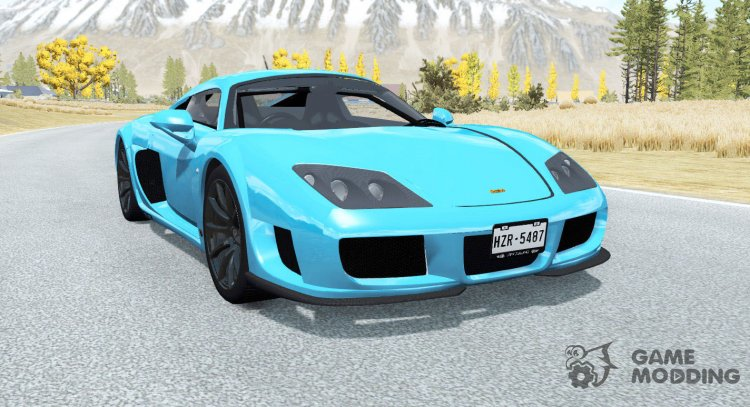 Noble M600 2009 for BeamNG.Drive
