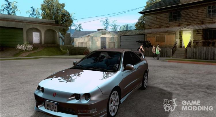 Acura Integra TypeRStock For GTA San Andreas - Acura integra mods