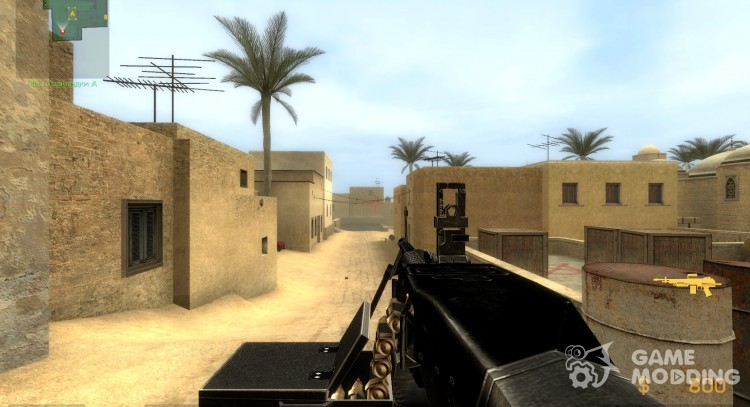 M249 M60 for Counter-Strike Source