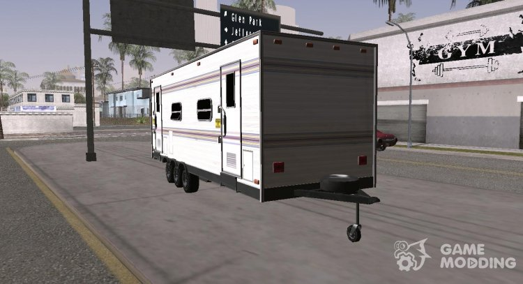 GTA V Makeup Trailer for GTA San Andreas