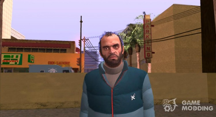 Trevor Phillip GTA V for GTA San Andreas