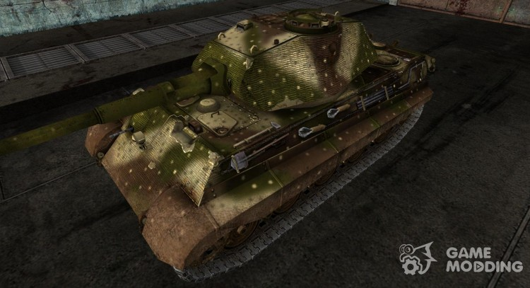 Skin for Panzer VIB Tiger II for World Of Tanks