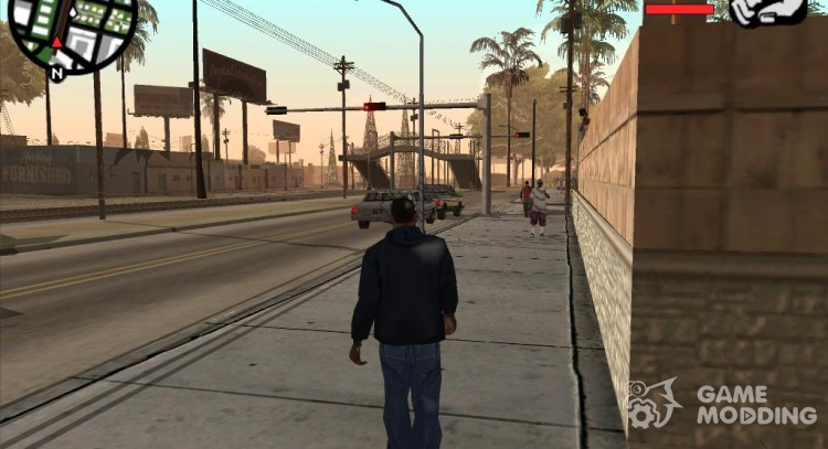 Mobile version-Pak mods for GTA San Andreas