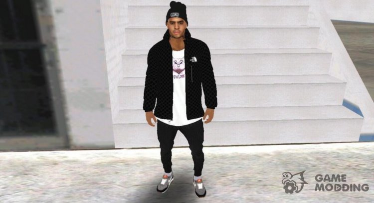 Chris Brown for GTA San Andreas