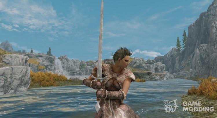 Ardaenye Witcher 2 Sword For Tes V Skyrim