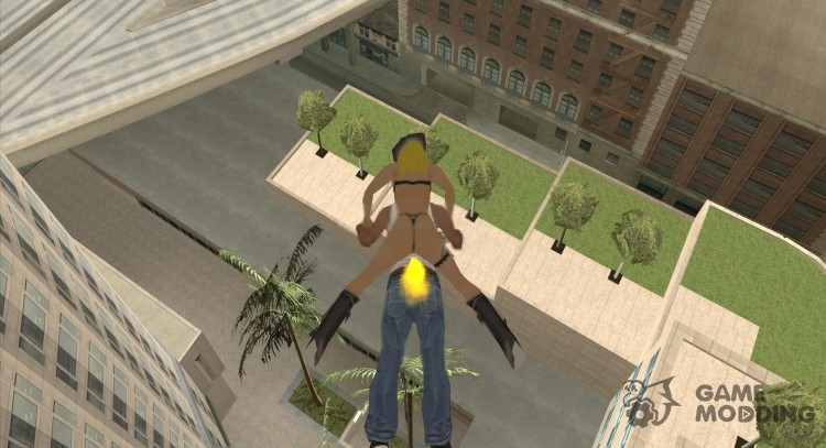 New Jetpack for GTA San Andreas