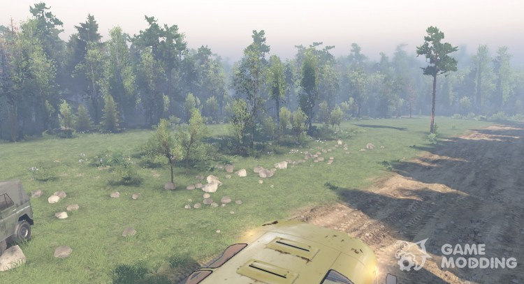 Our map for Spintires 2014