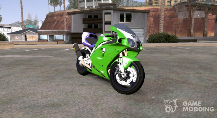 1996 Kawasaki ZX-7R (low version) for GTA San Andreas