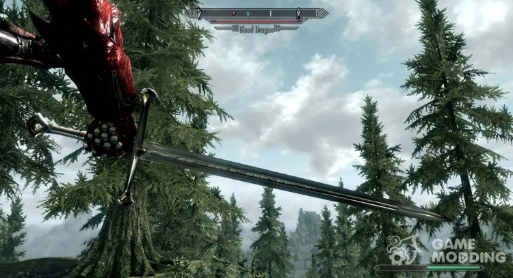 Flame Of The West for TES V: Skyrim