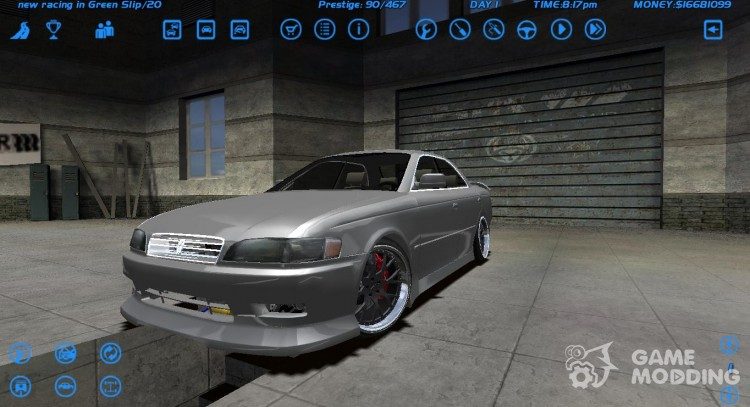 Toyota Mark 2 для Street Legal Racing Redline