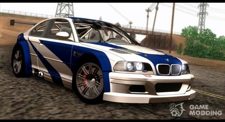 Bmw M3 Gtr E46 2004 For Gta San Andreas