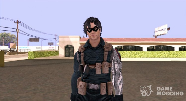 Winter Soldier classic (Marvel Database) for GTA San Andreas