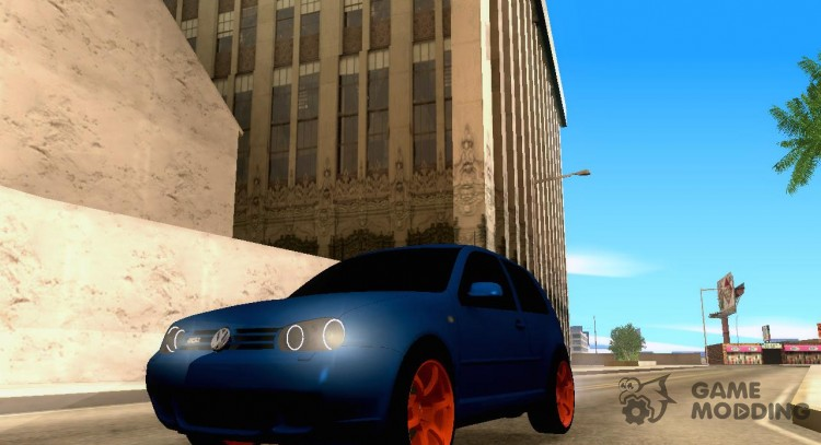 Volkswagen Golf IV GTI Light Tuning for GTA San Andreas