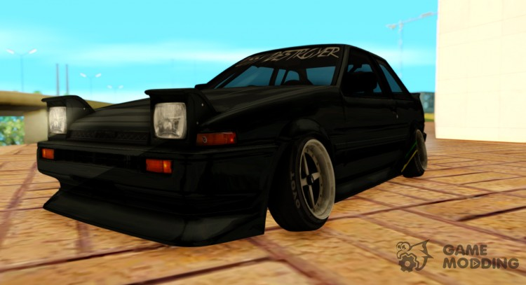 1986 Toyota Trueno AE86 Coupe P Destroyer for GTA San Andreas