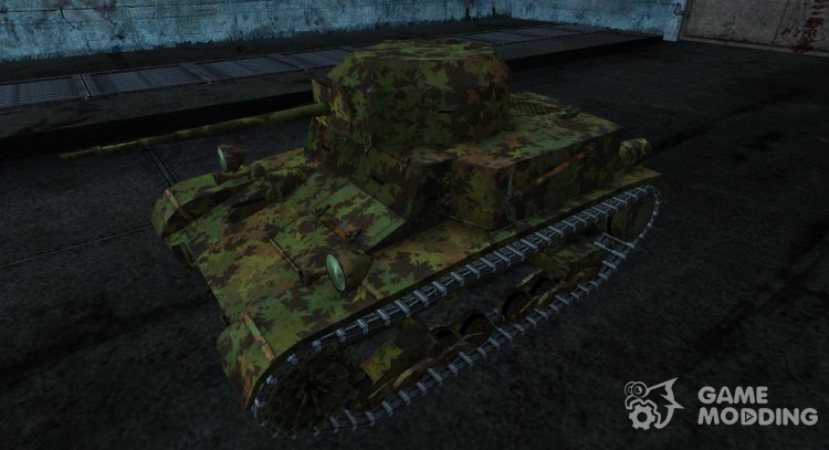 Skin for T2 lt for World Of Tanks