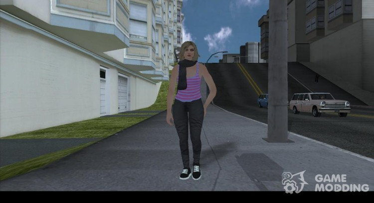 Female Player Animations PED.IFP для GTA San Andreas