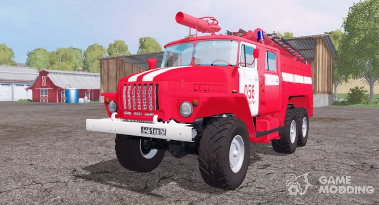 Ural 5557 ATS-5.5-40 for Farming Simulator 2015