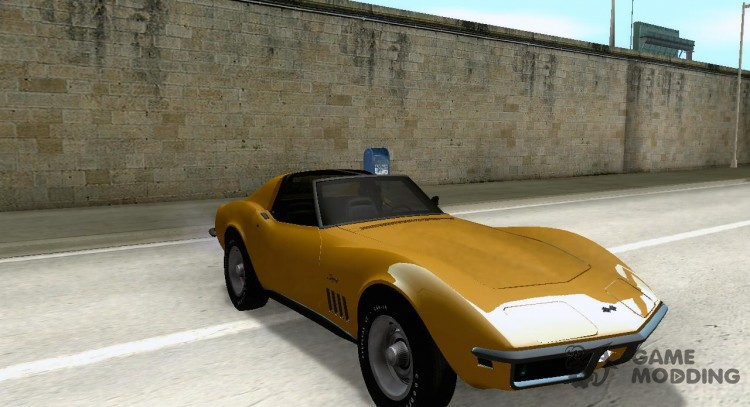 C3 Chevrolet Corvette Stingray T Top 1969 V 11 For Gta San Andreas