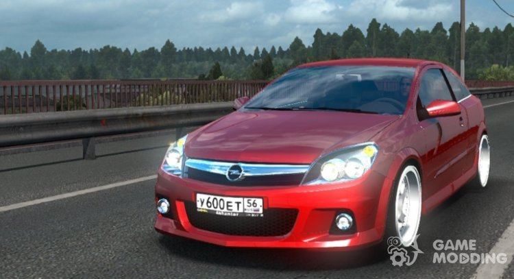 Opel Astra H for Euro Truck Simulator 2