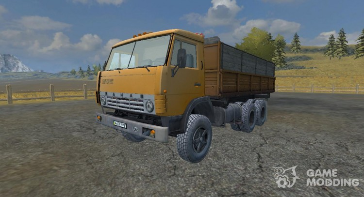 КамАЗ 55102 v 2.0 для Farming Simulator 2013