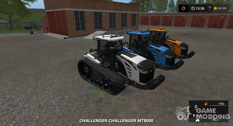 CAT Challenger MT800E Multicolor for Farming Simulator 2017