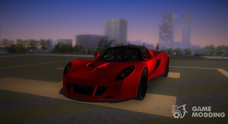 Hennessey Venom GT Spyder for GTA Vice City